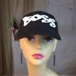 Boss Black Ball Cap